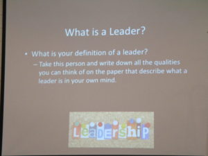 What is a leader? slide