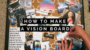 How to make a vision board header image