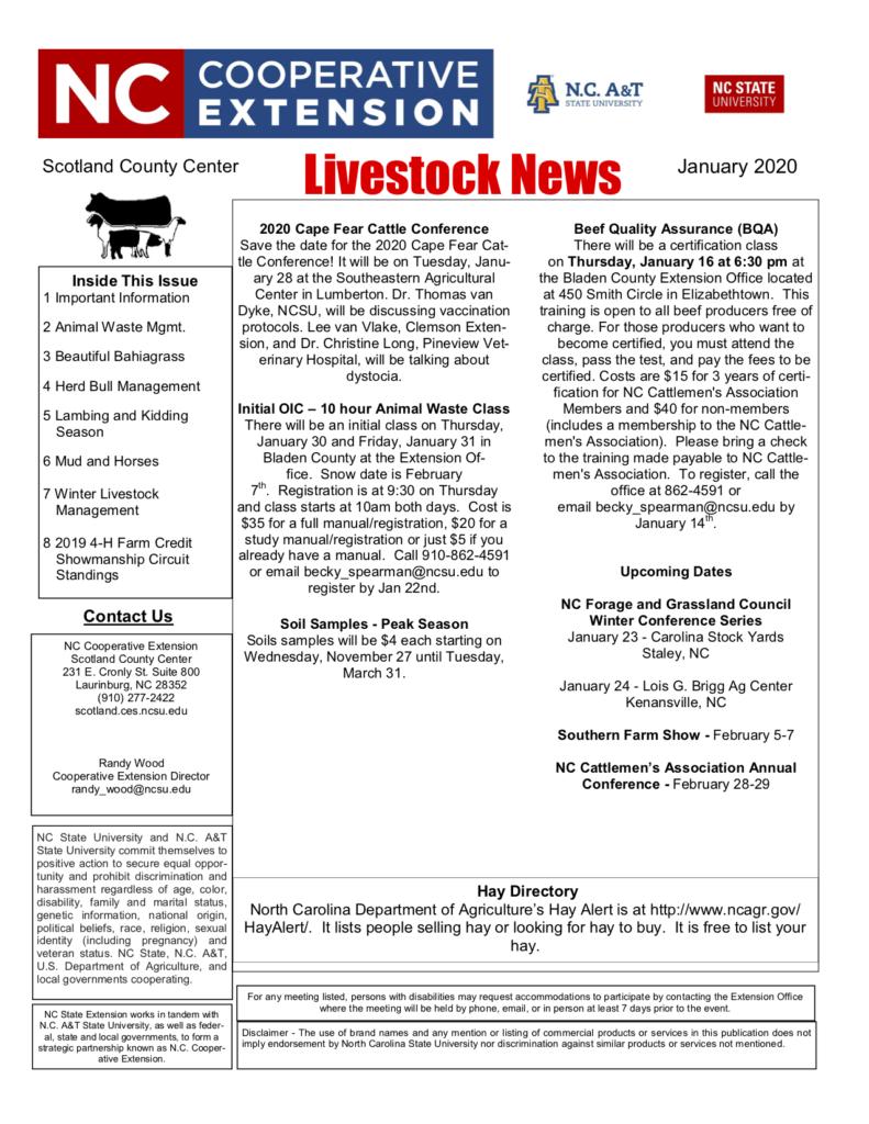 Newsletter flyer image