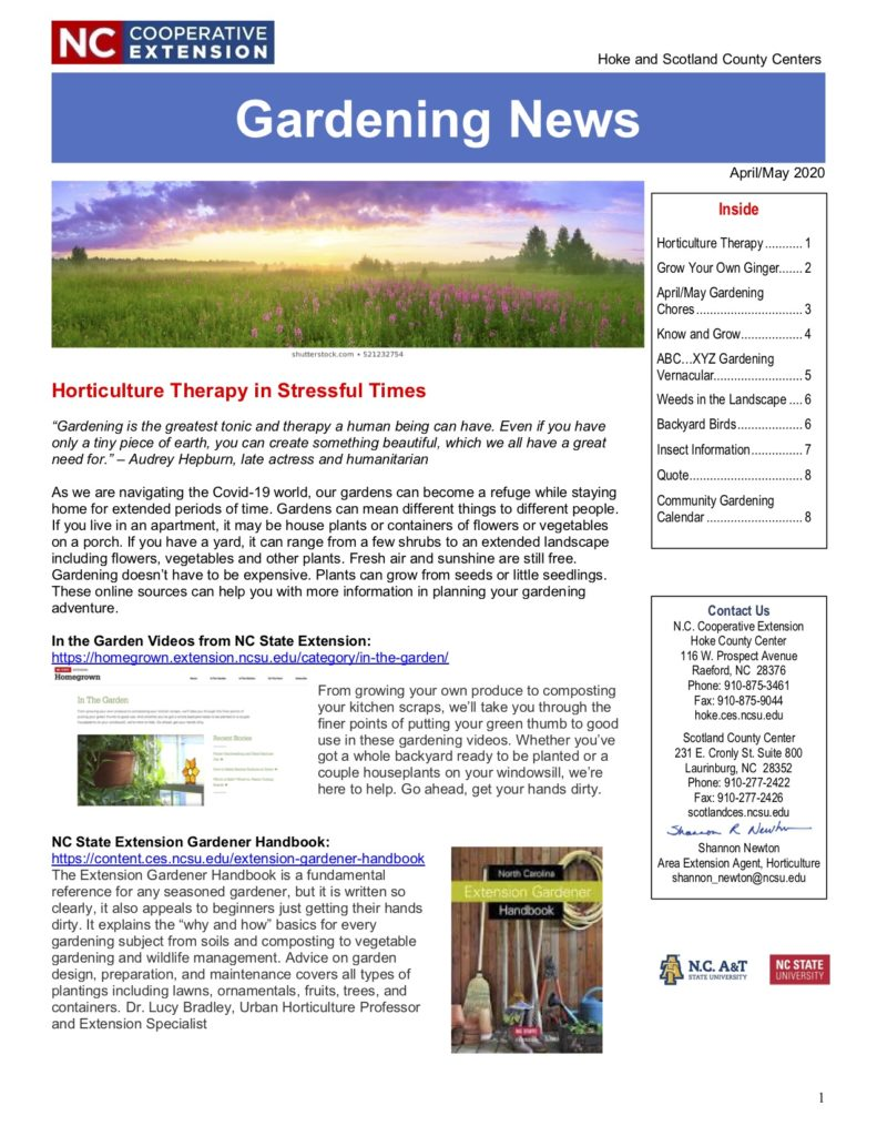 Image of Gardening News cover