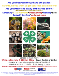Cover photo for Junior Master Gardeners Interest Meeting