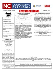 jan livestock newsletter 2021