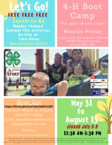 Summer Feeding Site flyer